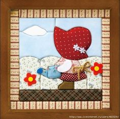 images attach c 9 106 517 Hand Applique, Wool Applique, Applique Patterns, Applique Quilts, Applique Designs, Embroidery Applique, Quilting Designs, Quilt Patterns, Sue Sunbonnet