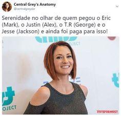 Greys Anatomy Couples, Greys Anatomy Facts, Cristina Yang, Derek Shepherd, Famous Books, Meredith Grey, Humor, Owen Hunt, Tv