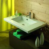 Found it at AllModern - Mars Ceramic Bathroom Sink with Overflow
