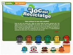 El joc del reciclatge | La Salut de l'Educació Física Cat, Ideas, Socialism, School, Recycling, Earth, Cat Breeds, Thoughts, Cats