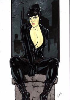 Catwoman by Gardenio Lima - Ed Benes Studio
