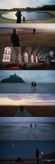 To the wonder - terrence malick. Cinematography by Emmanuel Lubezki - horizon line, sky as a character, framing nature