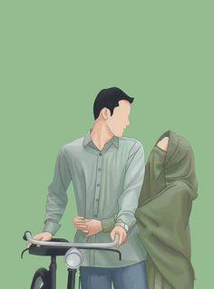 Frq nhi padta teri or se. Wedding Couple Cartoon, Love Cartoon Couple, Cute Love Cartoons, Cute Cartoon Wallpapers, Cartoon Images, Cartoon Art, Cute Muslim Couples, Cute Anime Couples, Muslim Couple Photography