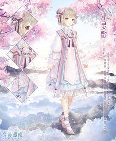 Image in Hell Event: 4 Wars album Anime Girl Pink, Anime Girl Cute, Nikki Love, Anime Dress, Anime Princess, Anime Costumes, Manga Anime, Anime Art, Female Character Design