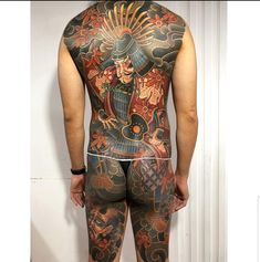 Traditional Style Tattoo, Asian Tattoos, Back Pieces, Irezumi, Body Tattoos, Full Body, Jumpsuit, Ink, Photo And Video