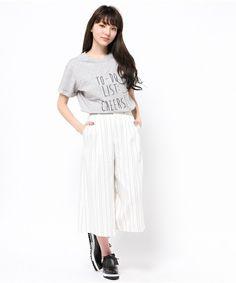 Mila Owen(ミラ オーウェン)のTO-DO LIST Tシャツ(Tシャツ/カットソー)|詳細画像