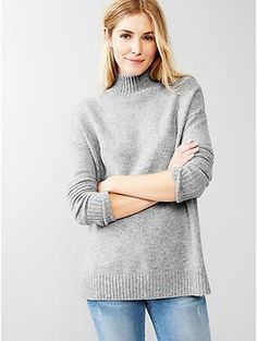 Cozy turtleneck sweaterGAP