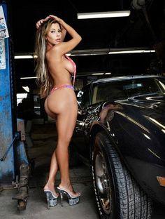 Idea Nude women on corvette for the