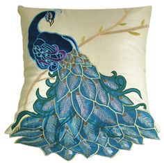 New Fashion Fancy Vivid Peacock Decorative Throw Pillow Case Cushion Cover Sham Great Deal Happy Toss Pillows, Throw Pillow Cases, Pillow Covers, Decor Pillows, Cushion Covers, Decorative Pillow Cases, Decorative Throw Pillows, Peacock Pillow, Paintings