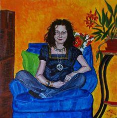Blue Chair Series:  Dana