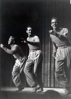 Bob Fosse with bob Scheerer and Cliff Ferre.