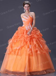 Lady Quinceanera Sweet Bridal Wedding Dress Prom Ball Gown Factory Size 6 to 16 Ball Gown Dresses, Bridal Dresses, Prom Dresses, Dress Prom, Puffy Dresses, Dresses 2013, Cheap Quinceanera Dresses, Cheap Gowns, Beach Pattern