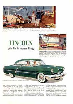 Lincoln Capri (1952) - Lincoln puts life in modern living