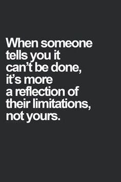 Don't be limited by others   - lmvus.com