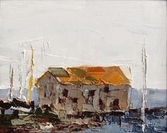 Sandra Pratt | Kingsland | Oil on Linen