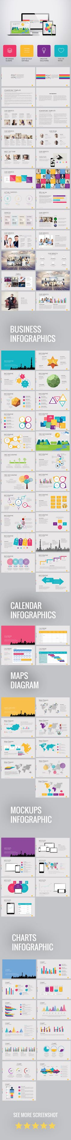 23 best business presentation templates images on pinterest polygon presentation template for business powerpoint templates cheaphphosting Choice Image