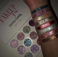Our Cotton Candy Inspired Pressed Glitters are the perfect makeup for day or night! Our Cotton Candy Inspired Pressed Glitters are the perfect makeup for day or night! Perfect Makeup, Cute Makeup, Gorgeous Makeup, Makeup Set, Amazing Makeup, Make Up Palette, Wedding Makeup Tips, Wedding Makeup Looks, Bride Makeup