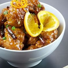 Tangy And Spicy Orange Chicken Recipe