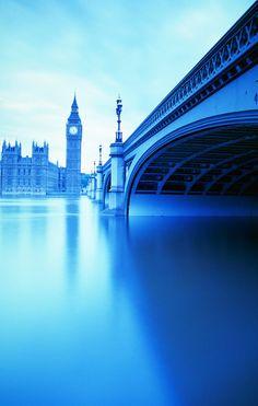 Thames River, London, England.