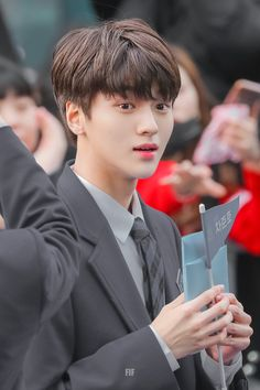 Kampung Inggris [Produce x Woollim Entertainment, Asian Hair, Produce 101, Guy Names, Mingyu, To My Future Husband, Aesthetic Pictures, K Pop, My Idol
