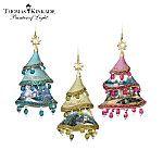 Thomas Kinkade Christmas Classics Bone China Christmas Ornament Collection