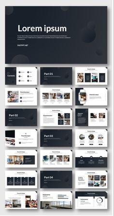 Business Presentation Templates, Presentation Design Template, Presentation Layout, Letterhead Design, Brochure Design, Powerpoint Design Templates, Graphic Design Templates, Company Profile Design, Feeds Instagram