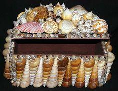 Seashell Jewelry Box