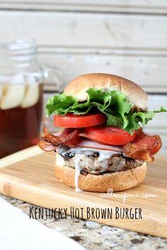 Kentucky Hot Brown Burger - Call Me PMc