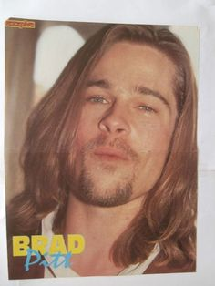 Brad Pitt Ian Ziering Mini Poster from Greek Mags clippings 1970s 1990s | eBay