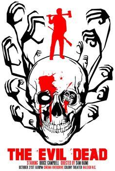   Fabulous fan art by Danny Miller   Evil Dead