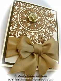 Medallion Birthday or Wedding by Itsapassion - Cards and Paper Crafts at Splitcoaststampers