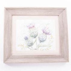 Framed Thistle Artwork by Voyage Maison Framed Artwork, Snug Room, Maison, Linen, Frame