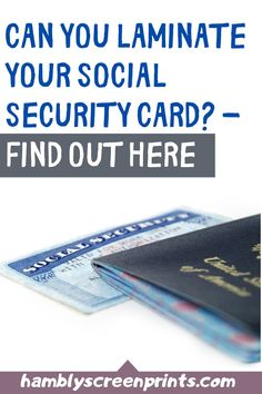 Can you laminate your socail security card? Find out the answer on this pin! #socialsecuritycard #lamination Vinyl Art, Vinyl Decals, Social Security Office, Cricut, Pretty Tough, Vinyl Cutter, What Can I Do, Vinyl Projects, Vinyl Designs