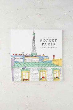 Secret Paris Color Your Way To Calm By Zoe De Las Cases Adult ColoringColoring BooksCook BooksActivity BooksUrban Outfitters