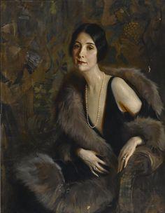 Tadeusz Styka, Portrait of Beatrice Hahn Troy