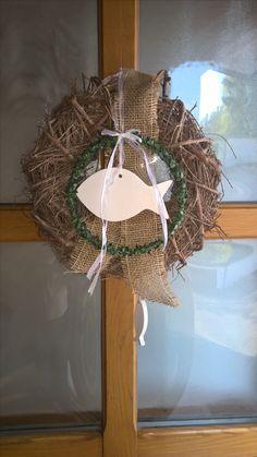 Grapevine Wreath, Grape Vines, Wreaths, Home Decor, Communion, Garlands, Homemade Home Decor, Decoration Home, Door Wreaths