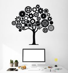 technology wall decals - Google Search | Character Wall ...