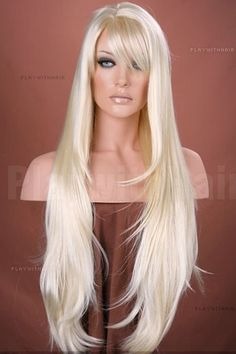 BEAUTIFUL// GORGEOUS // Flowing Long Layers Full Wig // 613