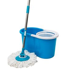 360 Rotating Replaceable Head Spinning Floor Mop Bucket #spinningmop #floormop #spinningbucket Spin Mop, Cleaning Items, Kitchen Utensils, Clean House, Spinning, Bucket, Flooring, Pug, Diy Kitchen Appliances