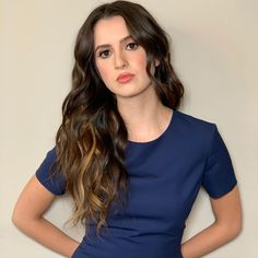Laura Marano, Your Image, V Neck, Photos, Long Hair Styles, Photo And Video, Celebrities, Instagram, People