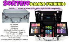 Sorteio: Concorra a duas maletas de maquiagem profissional completas