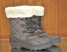 UGG Womens Boots Newberry Stout Chocolate Brown Leather Lace Up Zipper Boots SZ 8 #ugg #uggaustralia #uggboots #winterboots #snowboots #ebayseller #ebay #womensboots #boots
