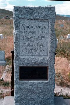ND History--Sacajawea, a indian guide for Lewis & Clark Expedition  Pinned by indus® in honor of the indigenous people of North America who have influenced our indigenous medicine and spirituality by virtue of their being a member of a tribe from the Western Region through the Plains including the beginning of time until tomorrow.