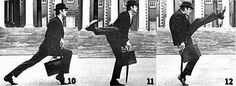 Ministry of Silly walks. Hilarious sketch of Monthy Python