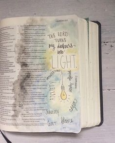 found on Chelsey Neddo {Bible Journaling}