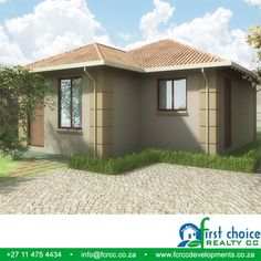 3 Bedroom Plan, Close Proximity, Pretoria, Tuscan Style, Affordable Housing, Townhouse, Stepping Stones, Shed, The Unit
