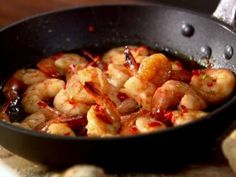 Whisky and Chili Jumbo Shrimp