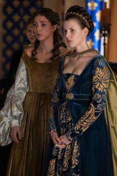 Borgia - Carlotta d'Aragona and Maria Diaz Garlon