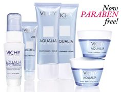 vichy paraben free,   i need to start making my own cosmetics with pure ingredients, throw away and avoid all paraben packed products (highest in paraben: loreal, olay; medium: garnier)  also See more Paraben free cosmetics products at :  www.envyderm.com