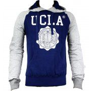 UCLA Colin Raglan Speck Sweat Hoody Jumper in Twilight Blue. For exclusive designer fashion at affordable prices visit www.hypedirect.com   #bensherman #designer #fashion #apparel #menswear #mensstyle #style #UCLA #university #sportswear #giogoi #hunter #duck #jack #discount